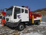 Буровая Kanglim 5600 на базе шасси Daewoo (4WD) Двойная кабина