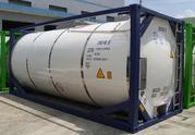 Танк контейнер T11 для дизельного топлива ДТ,  бензин