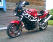 продаю мотоцикл yamaha trx850